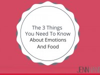 The 3 Things You Need To Know About Emotions And Food