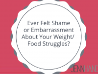 Ever Felt Ashamed or Embarrassed by Your Weight/Struggle with Food?
